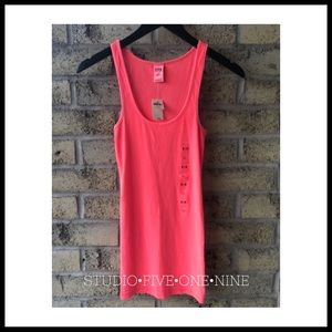 PINK by Victoria's Secret • Neon Ribbed Tank